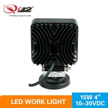 10-30DVC Super Bright Off road 15W LED Truck Tractor Machine Work Light
