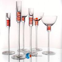 Samyo Glassware Manufacturer church candle stands