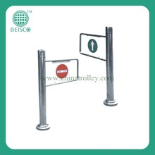 2015 new design supermarket entrance & exit door