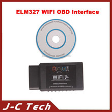 New 2015 ELM327 WIFI OBD2 Car Diagnostic Interface EOBD Scan Tool Support IOS Android and PC Platform Software V2.1