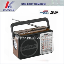 NS-157U FM AM multi band radio with USB/SD card reader speaker