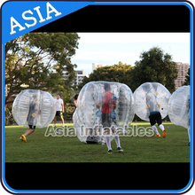 The most popular sale inflatable human bubble ball, bubble ball suit, tpu bubble football