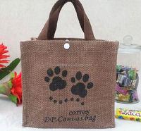 2015 cheap small cute cotton canvas bag/ raw cocoa beans/ design small cute cotton canvas bags