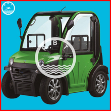 Low power cunsumption convertible electric car