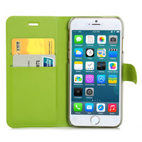 2015 Newst Smooth Soft PU leather flip standing fashion design phone wallet flip mobile phone cover
