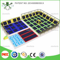 top selling special multi function durable indoor trampoline park