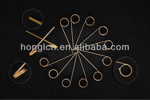 disposable bamboo roll picks,dried bamboo sticks,knotted/handle skewer