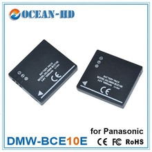 Extended 3.6v li ion polymer recharge battery DMW-BCE10E for CGA-S008A
