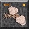 New design fashion style metal belt chain for garment