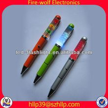 2014 China Supplier New Style Colourful Led Flashing ball pen mould