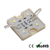 plastic base/ waterproof SMD 3528 4 chips self adhesive led module light