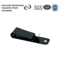 Professional fabricator of metal sheet spring steel belt clip