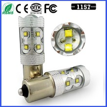 12V 50W Car led s25 1157 Bay15d p21w Brake Bulb LED Chips Big Power car light Hot Sale P21W BA15S LED Backup Light 12V
