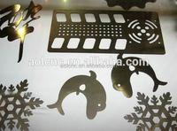 laser cut metal,stencils