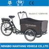 Cheap europe popular electric cargo cycle NANYANG CARGO UB9019E