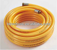 china fuel resistant rubber and pvc hose