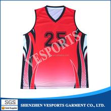 USA Basketball Shooting Shirt Custom Basketball Tops