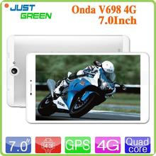 2015 Onda 4G tablets pc tablets pc 6.98 inch IPS tablets pc for wholesales Android 4.3 quad cores