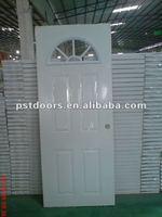 decorative interior glass door, cafe door for barthroom, door inserts glass