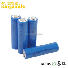 In stock LG EAS3 2200mah 18650 flat top 18650EAS3 rechargeable li-ion 18650 battery