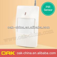 Detector de infrarrojo pasivo, buena calidad inalámbrico pir sensor de movimiento sin adaptador