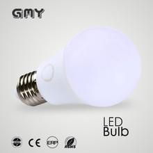 25000 hours long lifespan 5W A60 e27 led bulb light (6000k)