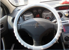 Designer best sell silicone steering wheel cover for car