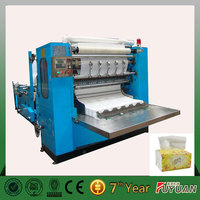 widely used full automatic V-folded hand towel paper machine