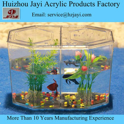 China manufacturer wholesale acrylic fish farming cage/cage for fish