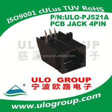Chinese dc-in power jack with pcb board and usb port for for dell 1525 series rj11 pcb mount jack