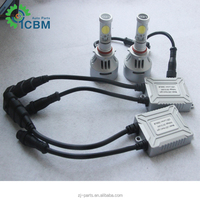 Hot Sale 3S & 4S LED High Power Lamp Car H4 H7 9005 9006 LED Light LED Car Headlight