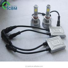 Hot Sale 3S & 4S LED High Power Lamp Car H4 H7 9005 9006 LED Light LED Car Headlight