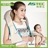 trustworthy china supplier mini shiatsu back roller electric massage pillow
