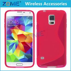 China Supplier Mobile Phone Case,Slim S-Line Back Flexible Cas Soft Skin Tpu Case Cover For Samsung Galaxy S5Mini