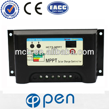 Sealed, gel and flooded battery option HCTS-MPPT series high-power solar controller 10A 12V/24V