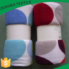 high quality micro plush fleece blanket with cheapest price