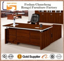 High end new design modern luxury wood office table executive ceo desk office desk