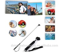 3 in 1 Extendable Handheld Self Monopod Stick+Clip Holder+Bluetooth Self-timer Shutter Remote For Cellphone and Tablet