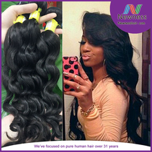 Original products natural Brazil loose wave hair really makes weave