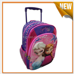 Lovely travel kid luggage with wheels