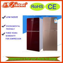 BCD-146A tempered glass door bottom freezer refrigerator