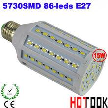 2013 Top Quality E27 5730 SMD 15W 86leds office Corn Light