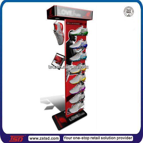 Tsd w622 Custom Sport Shoe Store Display Racksshoe Ideasequipment For Buy