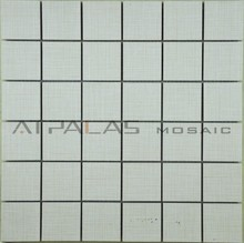 Classical ceramic mosaic tile, beige square models for bathroom