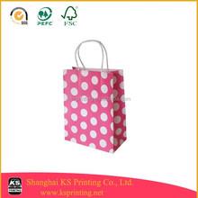 Cheap full colour custom designed paper bag printing