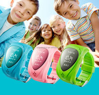 real-time locator wrist watch gps tracking device for kids easy dial calls