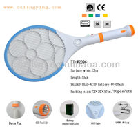 popular Rechargeable Electronic bed bug killer Racket spider catcher