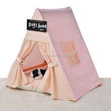 Outdoor wooden dog house lovable dog carrier fabric dog house