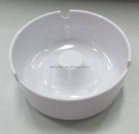 9.3 cm round melamine ashtray in customised color
