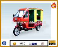 2015 semi closed cabin taxi tricycle, passenger tricycle
